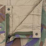 Мужские шорты Maharishi Reversible Camo Twill Papal Woodland/Sand фото- 1