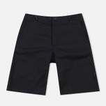 Мужские шорты Maharishi Summer Twill Black фото- 0