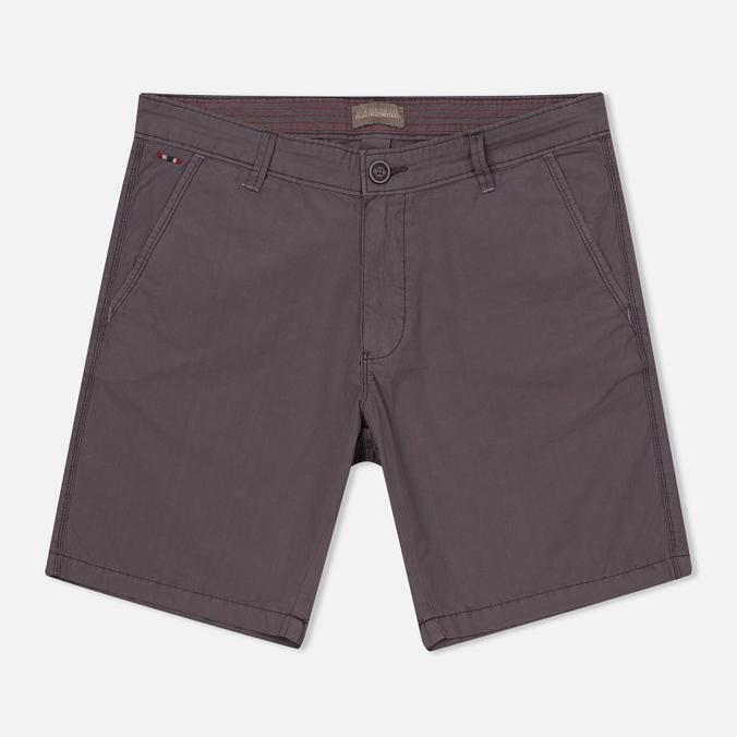 Мужские шорты Napapijri Nayerou Popeline Taupe Brown