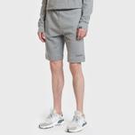 Мужские шорты Napapijri Nevora Medium Grey Melange фото- 1
