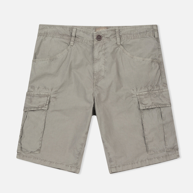 Мужские шорты Napapijri Noto Bermuda Medium Grey Solid