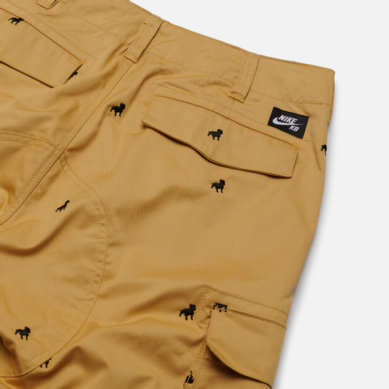 Мужские шорты Nike SB ISO Club Gold/Black