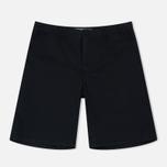 Мужские шорты Norse Projects Aros Light Twill Black фото- 0