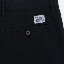 Мужские шорты Norse Projects Aros Light Twill Black фото- 3