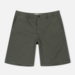 Мужские шорты Norse Projects Aros Light Twill Dried Olive фото- 0