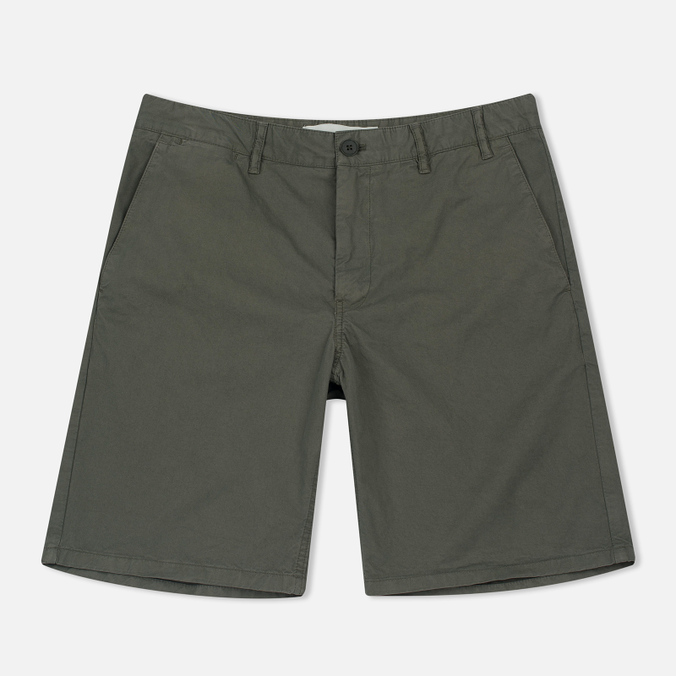 Мужские шорты Norse Projects Aros Light Twill Dried Olive