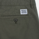 Мужские шорты Norse Projects Aros Light Twill Dried Olive фото- 3