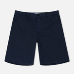 Мужские шорты Norse Projects Aros Light Twill Navy фото- 0