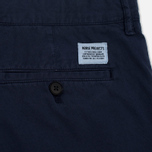 Мужские шорты Norse Projects Aros Light Twill Navy фото- 3