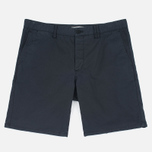 Мужские шорты Norse Projects Aros Slim Light Twill Black фото- 0