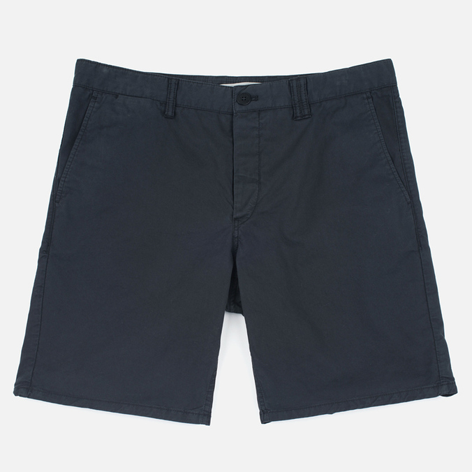 Мужские шорты Norse Projects Aros Slim Light Twill Black