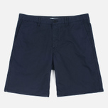 Мужские шорты Norse Projects Aros Slim Light Twill Dark Navy фото- 0