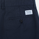 Мужские шорты Norse Projects Aros Slim Light Twill Dark Navy фото- 3