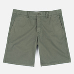 Мужские шорты Norse Projects Aros Slim Light Twill Dried Olive фото- 0