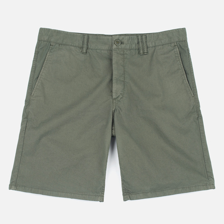 Norse Projects Aros Slim Light Twill Dried Olive