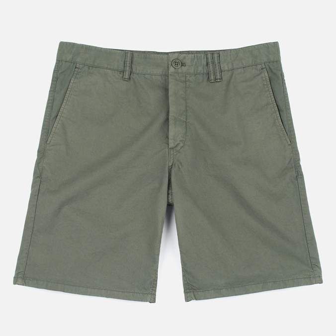 Мужские шорты Norse Projects Aros Slim Light Twill Dried Olive