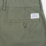 Мужские шорты Norse Projects Aros Slim Light Twill Dried Olive фото- 3