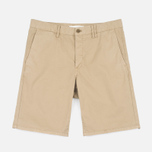 Мужские шорты Norse Projects Aros Slim Light Twill Khaki фото- 0