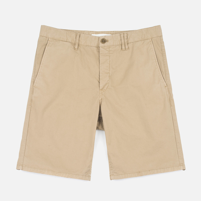 Мужские шорты Norse Projects Aros Slim Light Twill Khaki