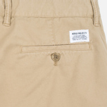 Мужские шорты Norse Projects Aros Slim Light Twill Khaki фото- 3