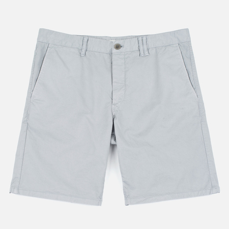 Norse Projects Aros Slim Light Twill Men`s Shorts Light Grey