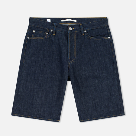 Norse Projects Denim Men`s Shorts Rinsed Indigo