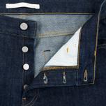 Norse Projects Denim Men`s Shorts Rinsed Indigo photo- 2