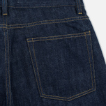 Мужские шорты Norse Projects Denim Rinsed Indigo фото- 3
