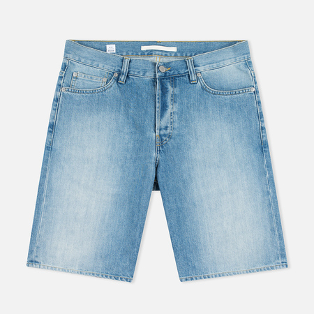 Norse Projects Denim Men`s Shorts Sun Wash