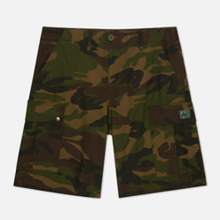 Мужские шорты Peaceful Hooligan Container Ripstop Woodland Camo