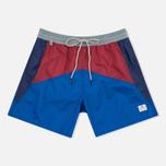 Мужские шорты Penfield Mackay Color Block Blue фото- 0