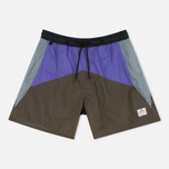 Penfield Mackay Color Block Men`s Shorts Olive photo- 0