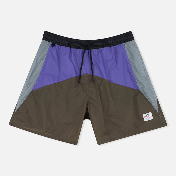 Penfield Mackay Color Block Men`s Shorts Olive