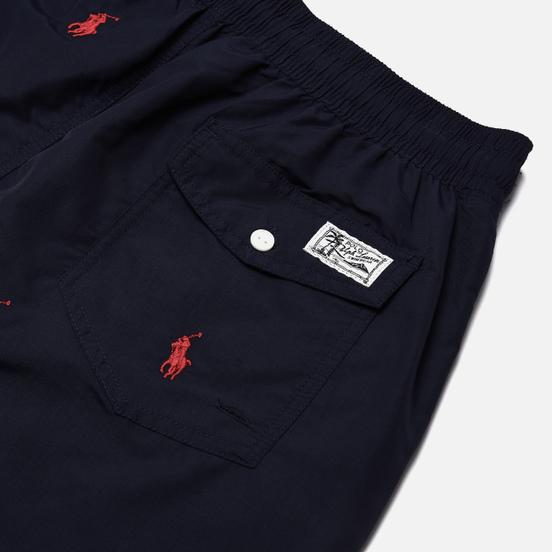 Мужские шорты Polo Ralph Lauren Embroidered Polo Traveller Swim Newport Navy