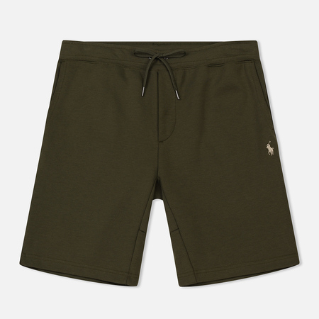 Мужские шорты Polo Ralph Lauren Jogger Double Knit Tech Company Olive