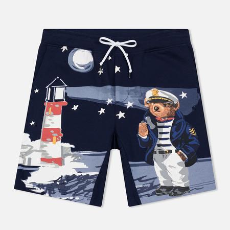 Мужские шорты Polo Ralph Lauren Print Bear And Lighthouse Cruise Navy