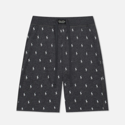 Мужские шорты Polo Ralph Lauren Printed Liquid Cotton Sleep Bottom Charcoal Heather/Nevis All Over Print