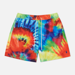 Мужские шорты Polo Ralph Lauren Traveler Swim Tie Dye Multicolor