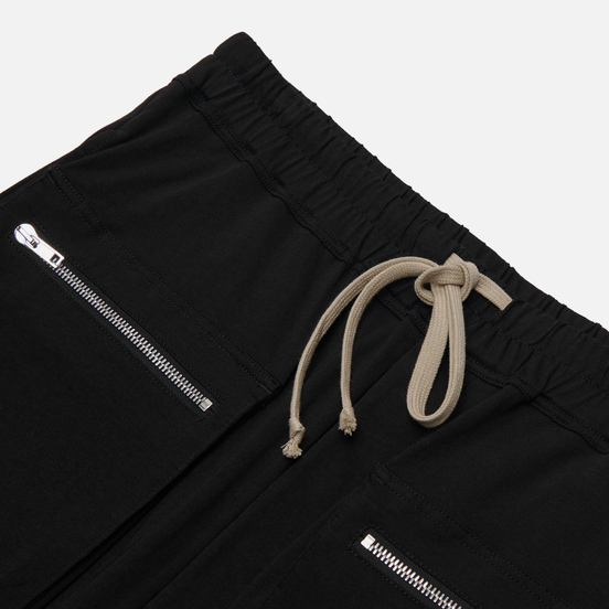 Мужские шорты Rick Owens DRKSHDW Tecuatl Cargo Drawstring Pods Black