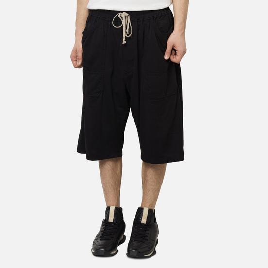 Мужские шорты Rick Owens DRKSHDW Tecuatl MT Drawstring Black