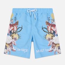 Мужские шорты RIPNDIP Heavinly Bodies Nylon Light Blue фото- 0