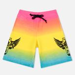Мужские шорты Sex skateboards x Dogtown Side Leg Print Multicolor фото- 0