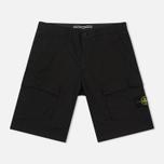 Мужские шорты Stone Island Bermuda Diagonal Pocket Black фото- 0