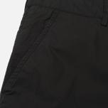 Мужские шорты Stone Island Bermuda Diagonal Pocket Black фото- 3