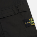 Мужские шорты Stone Island Bermuda Diagonal Pocket Black фото- 4