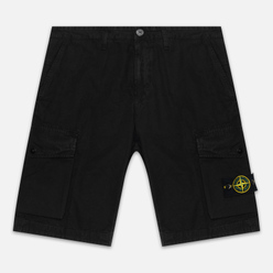 Мужские шорты Stone Island Bermuda Old Dye Treatment Black