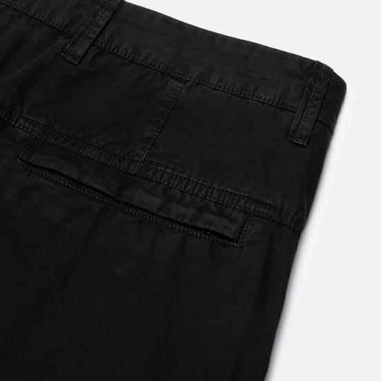Мужские шорты Stone Island Bermuda Old Dye Treatment Black