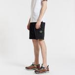 Мужские шорты Stone Island Cargo Pocket Garment Dyed Black фото- 2