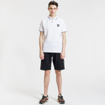 Мужские шорты Stone Island Cargo Pocket Garment Dyed Black фото- 4
