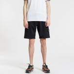 Мужские шорты Stone Island Cargo Pocket Garment Dyed Black фото- 1